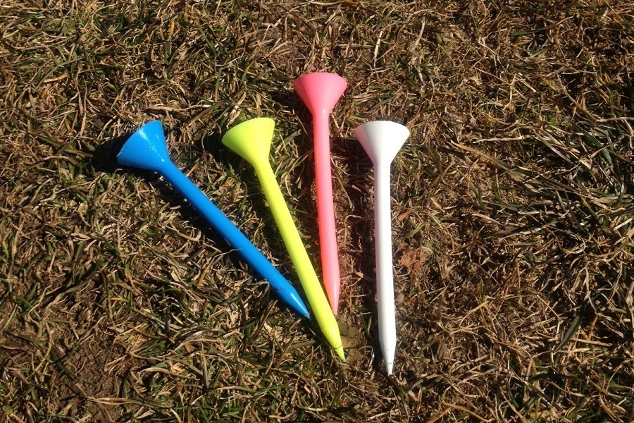 Colorful Martini Golf Tees