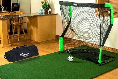 The Net Return Pro Series Multi Sport Net Soccer Practice
